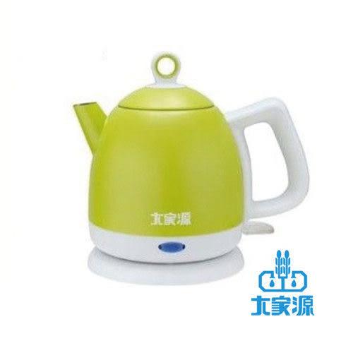 慶祝新品上市送檸檬玻璃杯♥大家源♥1.0L 304不鏽鋼彩漾快煮壺 TCY-2711