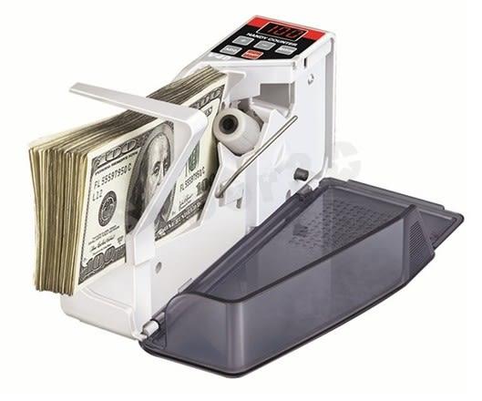 新竹【超人3C】免運費 V40 快速 點鈔機 多國紙幣 可攜式點鈔機 攜帶式 外出型 做生意 0800181@3N1