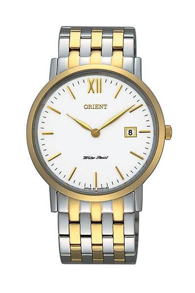 【分期0利率】ORIENT 東方錶 復古風簡約石英錶 半金 直徑3.6公分 全新原廠公司貨 FGW00003W
