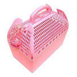 【zoo寵物商城】暖色系外提籃寵物籠(瘋了-比大賣場便宜)