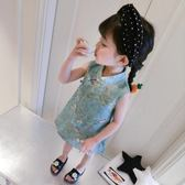 女童中國風旗袍紗裙