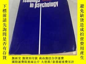 二手書博民逛書店CONTEMPORARY罕見READINGS IN PSYCHOLOGYY752