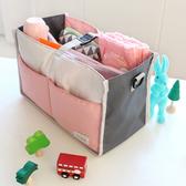 收納包 大容量包中包掛袋兒童整理包多功能內膽收納包媽咪包外出包 夢藝家