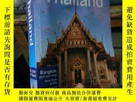 二手書博民逛書店{外文原版}Thailand罕見(Lonely Planet C