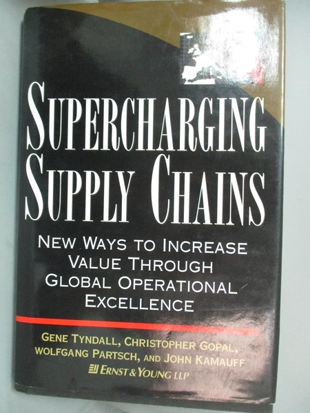 【書寶二手書T1/大學商學_YHV】Supercharging...-New Ways to Increase..._Tyndall