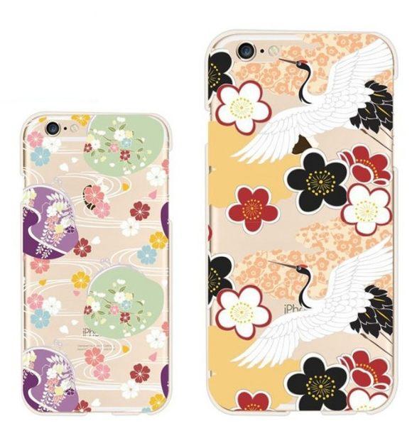 [24H 台灣現貨] 彩繪 蘋果 iphone 6 6s plus 日系 雕花 捕夢網 手機殼 保護套 軟殼 透明