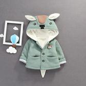 雙12購物節 女童裝外套/厚外套保暖連帽外套蝙蝠衫 娃娃衣 披風外套