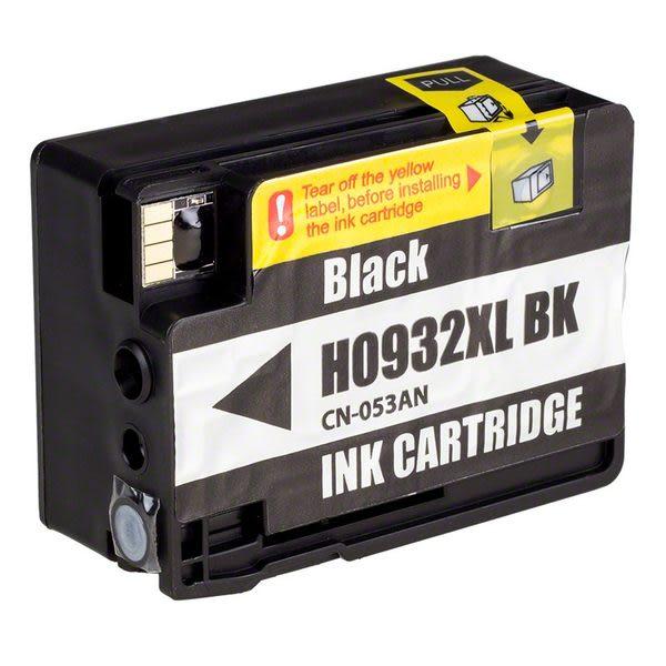 HP No.932XL CN053AA(黑色)相容墨水匣【適用】6100/6600/6700/7110/7610/7612/7510A /另有932XL藍/933XL紅/933XL黃