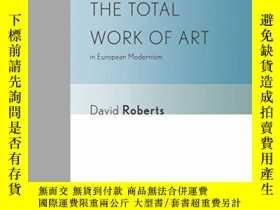 二手書博民逛書店The罕見Total Work Of Art In Europe