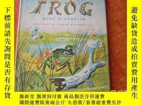 二手書博民逛書店FROG罕見WENT A-COURTINY9890 出版1955
