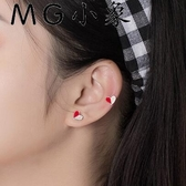 MG 耳墜-韓版氣質簡約甜美愛心個性耳環