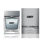 DOLCE & GABBANA D&G The One GREY 唯我銀河男性淡香水 30ml (贈 名牌小香)【UR8D】