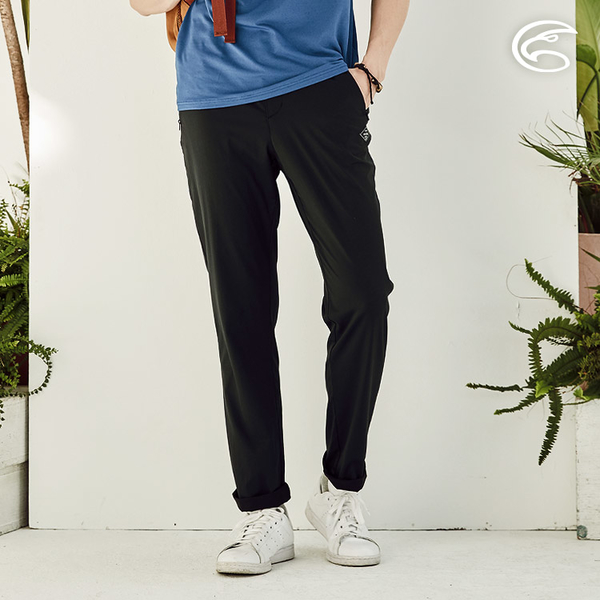 ADISI 男抗UV輕薄吸濕快乾透氣長褲AP2111056 (S-2XL) / 吸排速乾 輕薄透氣 防曬 抗紫外線 休閒褲