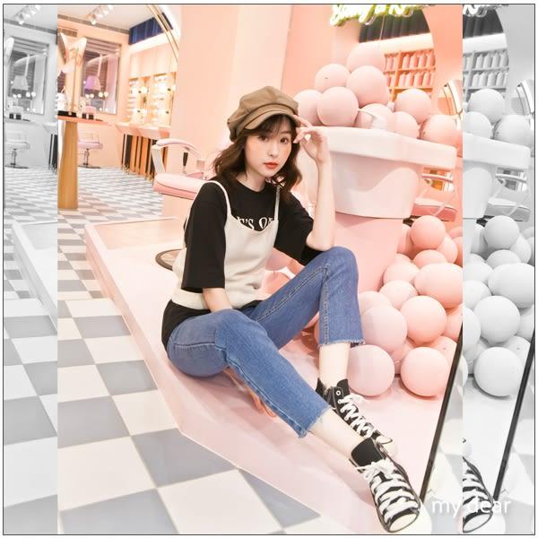 MD韓製-ITS字母T恤-3色【01018071】