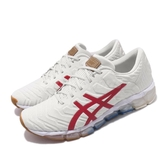 Asics 慢跑鞋 Gel-Quantum 360 5 Retro Tokyo 米白 紅 男鞋 復刻東京 運動鞋 【PUMP306】 1021A291100