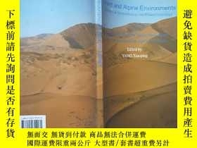 二手書博民逛書店desert罕見and alpine environments【