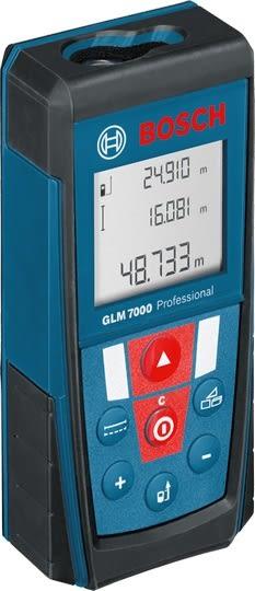 BOSCH  雷射測距儀 GLM 7000 可自動換算台尺.坪數