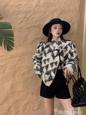長袖寬鬆加厚加棉外套女裝秋冬季小香風百搭學生韓版開衫休閒上衣 韓國時尚週