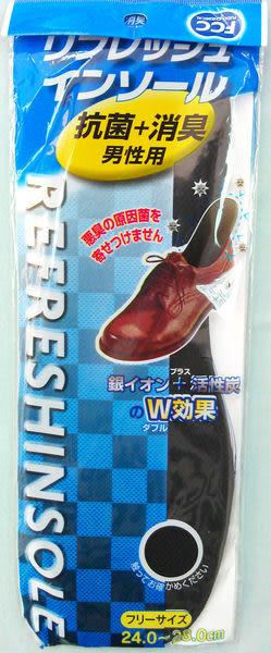 鞋墊-透氣+消臭 男性用