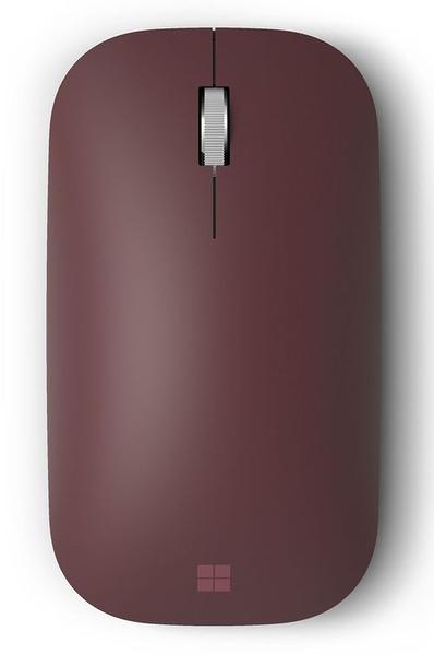 Microsoft 微軟 Surface Mobile Mouse 藍牙無線滑鼠 (酒紅)--(現貨供應中)