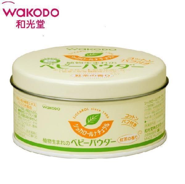 *美馨兒* 和光堂 WAKODO-嬰幼兒玉米爽身粉 (紅茶香味) 120g 299元