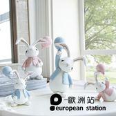 擺件/創意北歐可愛俏皮小兔子對裝Q版公仔【歐洲站】