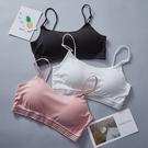 內衣女學生發育期性感聚攏美背抹胸高中少女吊帶文胸薄款運動裹