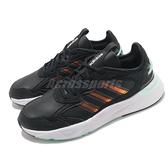 adidas 慢跑鞋 Futureflow 黑 綠 女鞋 輕量透氣 休閒鞋 運動鞋【ACS】 FZ0368