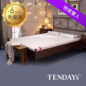 【TENDAYS】柔織舒壓記憶床墊7尺特規雙人(6cm厚 記憶床)