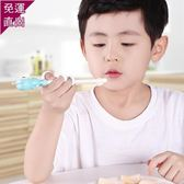 兒童筷子 訓練筷一段小孩家用練習勺子叉套裝寶寶學習吃飯神器男孩