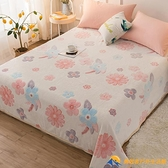 牛奶絨床單單件珊瑚絨毛毯法蘭絨加厚冬季單雙人床單【勇敢者戶外】