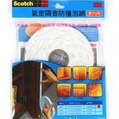 3M 室內隔音防撞泡棉6001(適用間隙1~3mm)