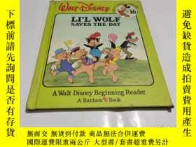 二手書博民逛書店LI L罕見WOLE SAVES THE DAY 精装Y9212