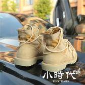 短靴 夏馬丁靴女英倫風學生高幫靴子百搭短靴冬沙漠機車靴