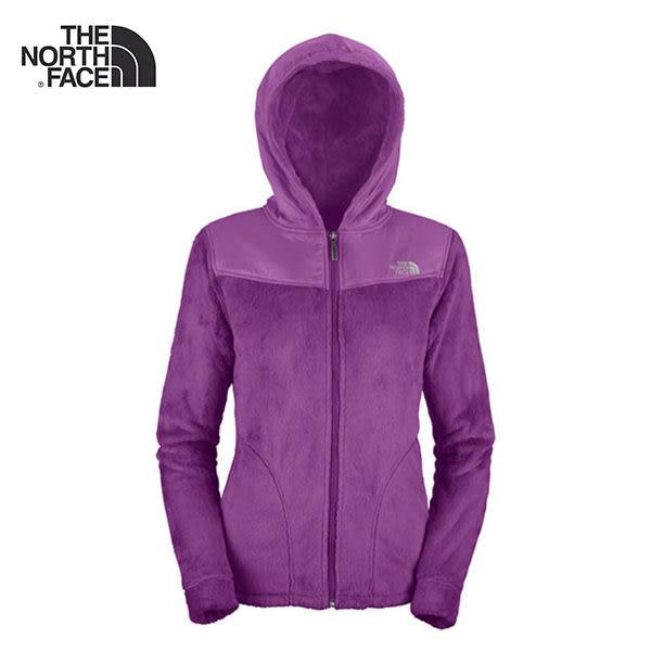The north face 女 連帽│刷毛│保暖外套 ARHB 『紫藍』