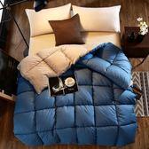 酒店被子冬被全棉加厚保暖3D立體羽絲絨太空被單人被芯棉被雙人 IGO