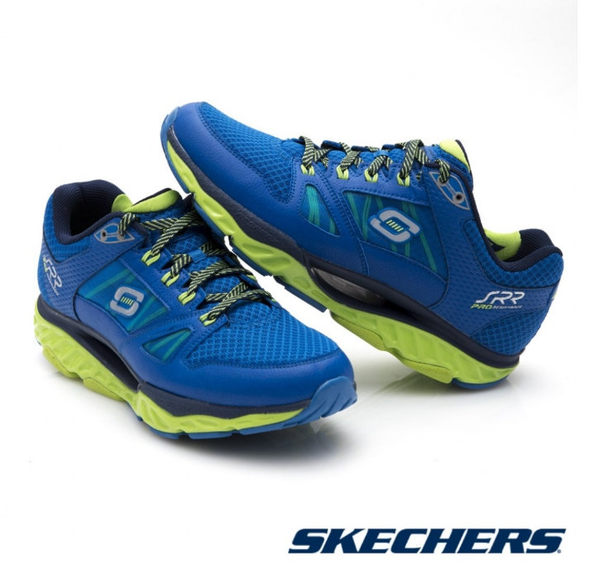 【SKECHERS 促銷95折】SKECHERS (男) 跑步系列 SRR PRO RESISTANCE - 999738BLLM