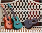 吉他-AJIMA尤克里里小吉他初學者男兒童學生23寸成人女小小鳳烏克麗麗 多麗絲旗艦店