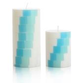 方塊階梯-海洋風香氛手工蠟燭組