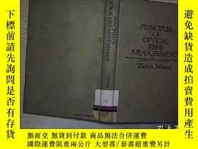 二手書博民逛書店principles罕見of optical fiber mea