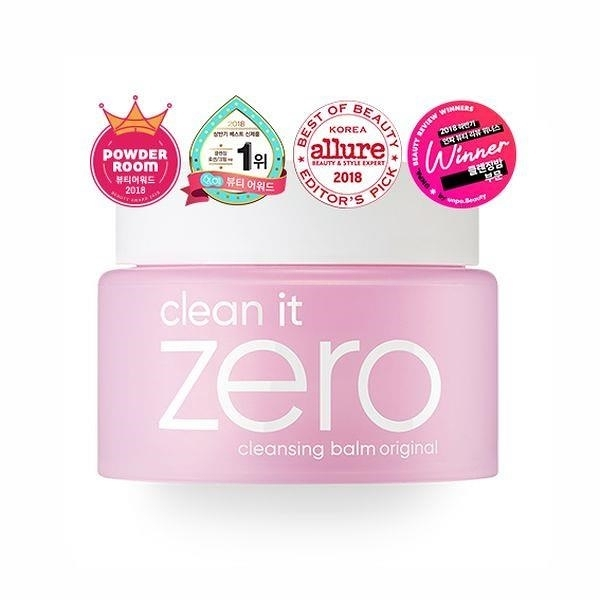 【南紡購物中心】【BANILA CO】銷售No.1 韓國 Zero柔感卸妝凝膏霜(經典款-任何肌膚適用)100ml 粉