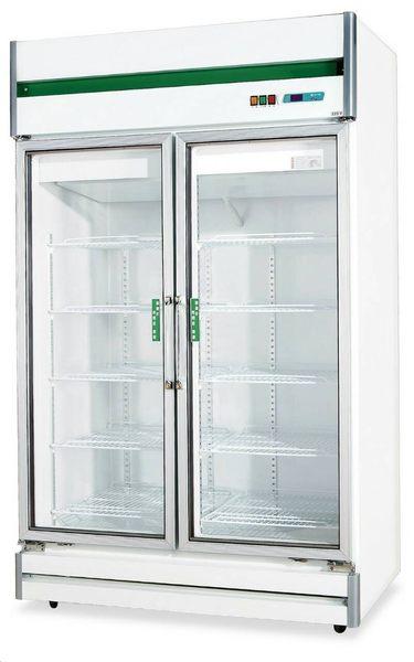 雙門玻璃式 冷凍櫃【風冷無霜冰櫃】型號:TC-400