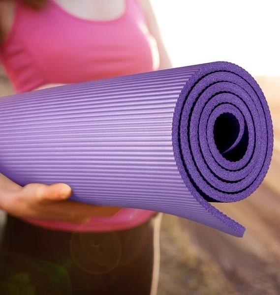 瑜伽墊 瑜伽墊男女初學者家用加厚加寬加長防滑瑜珈健身墊子地墊舞蹈 果果生活館