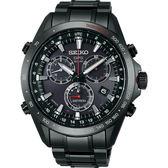 SEIKO精工ASTRON GPS衛星 太陽能計時腕錶-黑(8X82-0AH0SD/SSE031J1)