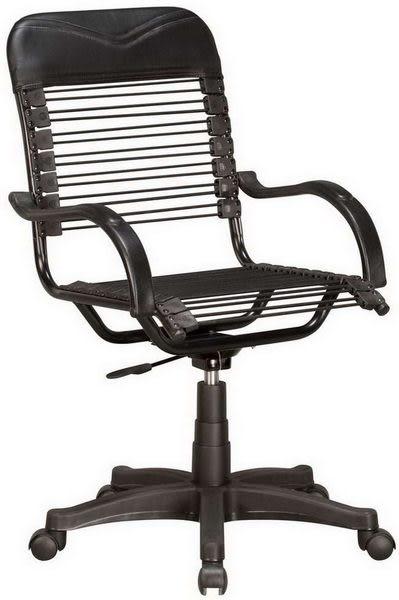 HP374-11 雅美小型辦公椅/氣壓升降+後仰/黑