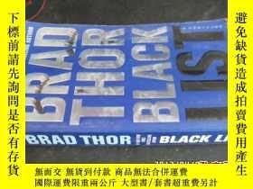 二手書博民逛書店BRAD罕見THOR BLACK LIST5919