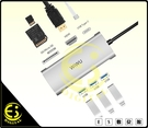 ES數位 WiWU 731HP 七合一多功能擴充器 智能轉接器 Type-C USB 3.0 HUB 4K HDMI多功能讀卡機
