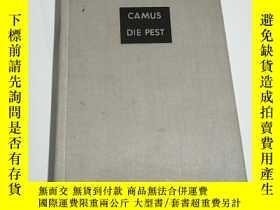 二手書博民逛書店CAMUS罕見DIE PEST (詳情看圖,精裝本布面,32開)
