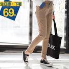 《BA3594》褲頭綁帶立體剪裁雪花褲 OrangeBear