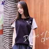【春夏新品】American Bluedeer - 鹿頭繡花T恤(魅力價) 二色